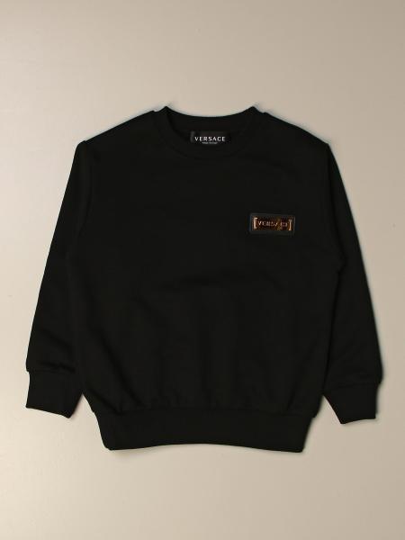 Versace Young crewneck sweatshirt with logo