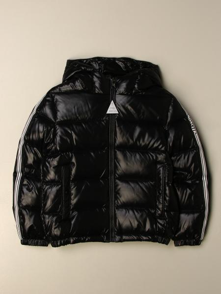Moncler jacket in padded and shiny nylon