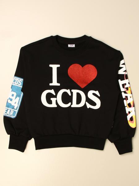 Gcds crewneck sweatshirt with logo and prints