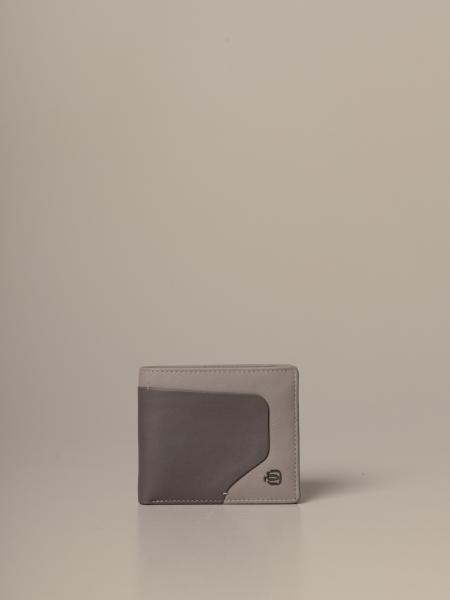 Piquadro: Akron Piquadro leather wallet