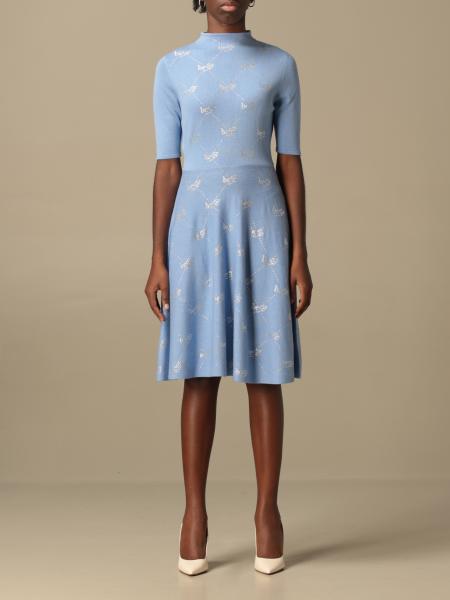 Be Blumarine: Be Blumarine dress in wool and cashmere blend