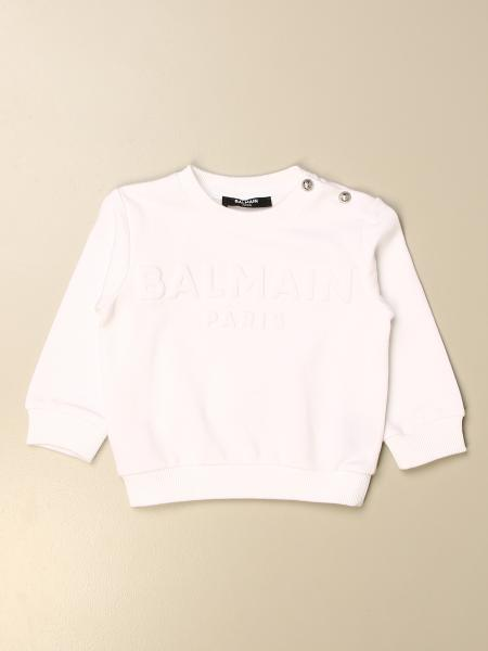 Balmain sweatshirt with embossed logo