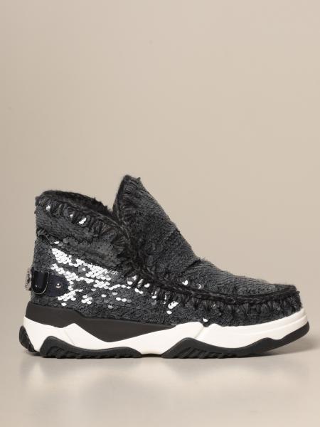 Stivaletto Eskimo Sneakers Mou con paillettes