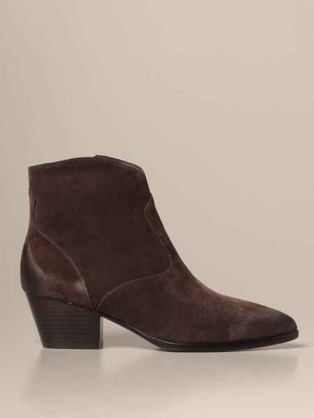 Ash: Heidi Bis Ash suede ankle boot