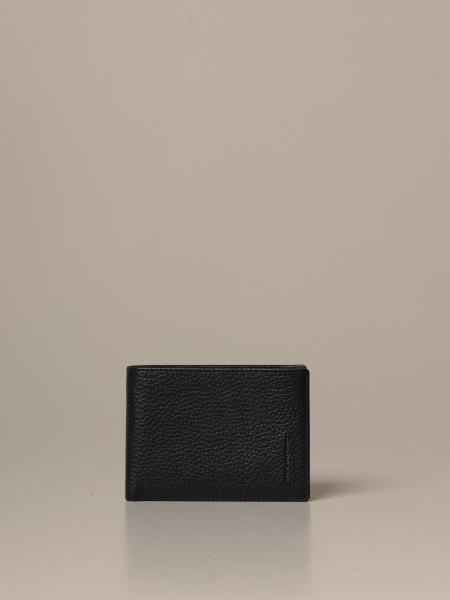 Piquadro wallet with leather coin holder
