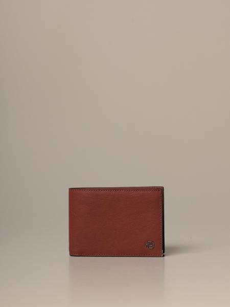 Piquadro: Piquadro wallet with leather coin holder