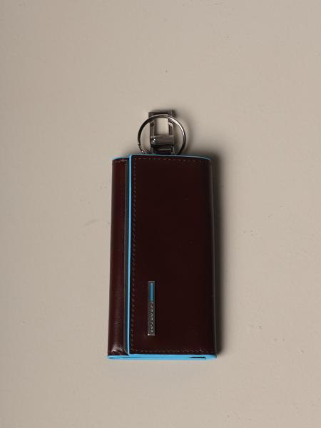 Piquadro key ring for armored door with carabiner