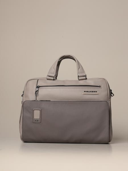 Piquadro: Akron Piquadro customizable satchel bag