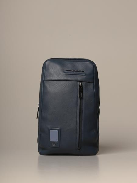 Piquadro: Akron Piquadro customizable shoulder bag for iPad mini