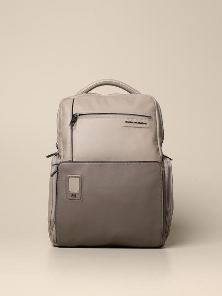 Piquadro: Akron Piquadro customizable computer backpack