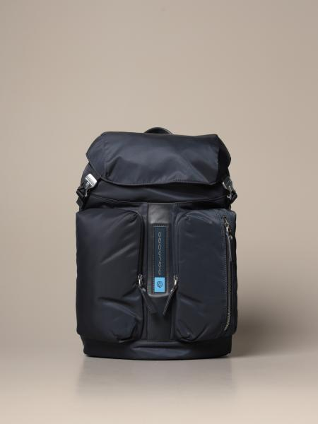 Piquadro: Piquadro PQ-Bios backpack in regenerated nylon for computer