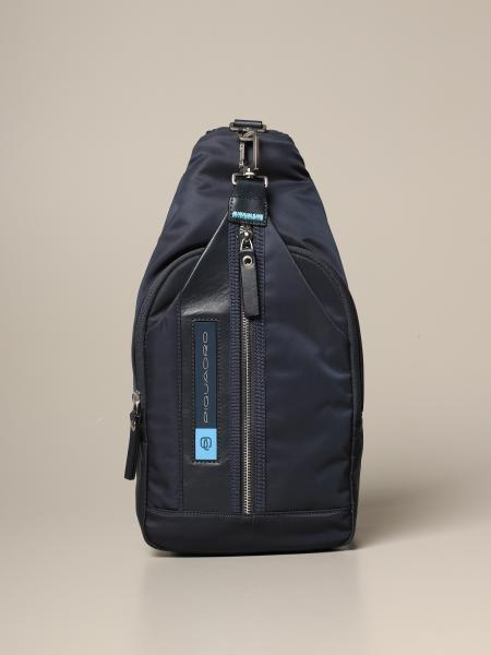 Piquadro: Piquadro PQ-Bios one-shoulder backpack in recycled fabric