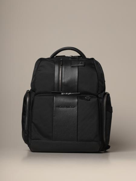 Piquadro: Piquadro fast-check laptop backpack with anti-theft cable