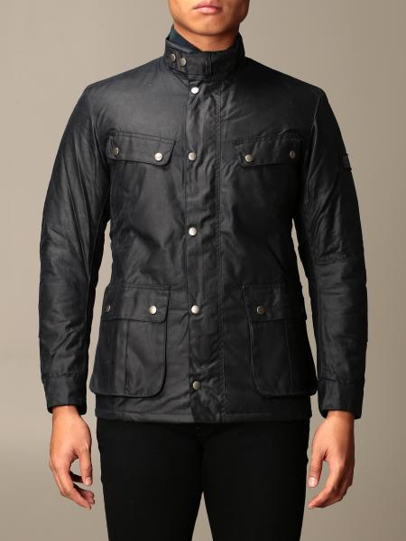 Barbour: Barbour jacket in coated cotton