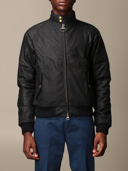 Barbour: Barbour bomber in coated cotton