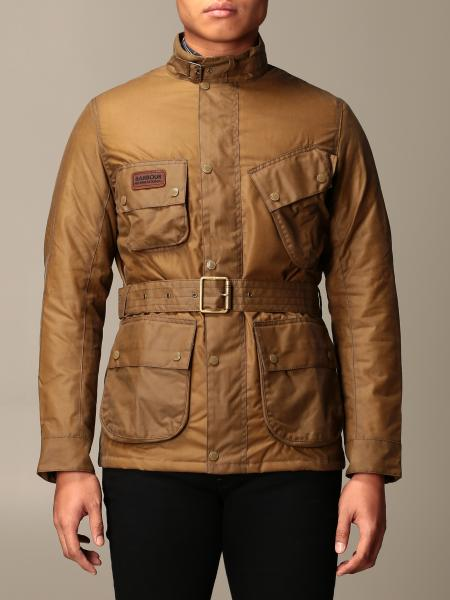 Barbour: Barbour international jacket in coated cotton