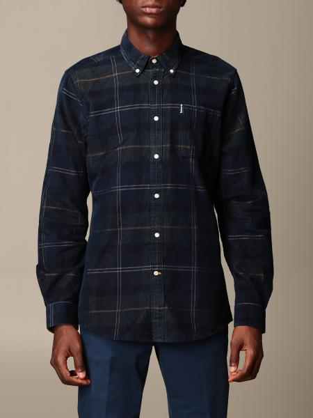 Barbour: Barbour shirt in tartan cotton with button down collar