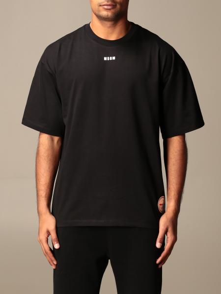 Msgm T-shirt with big back logo