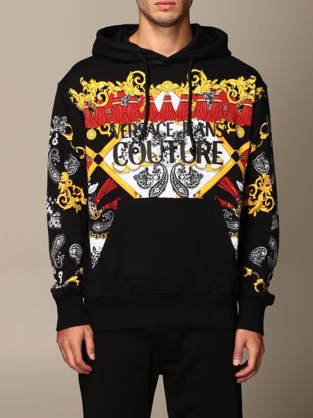 Versace Jeans Couture sweatshirt with baroque pattern