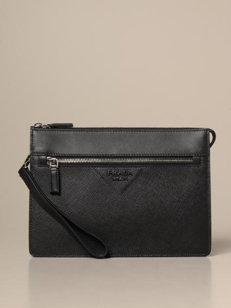 Shoulder bag men Prada