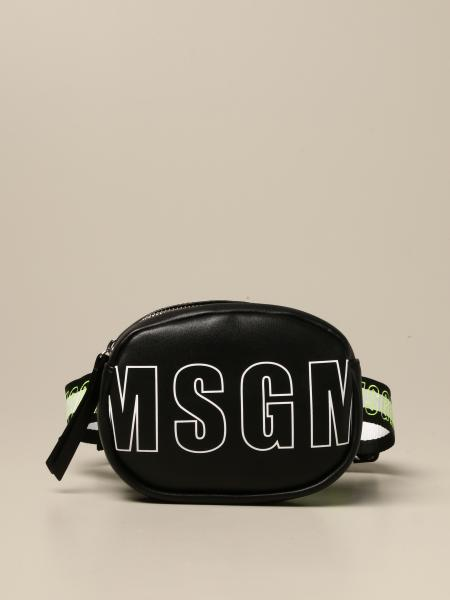 Marsupio mini Msgm Kids con big logo