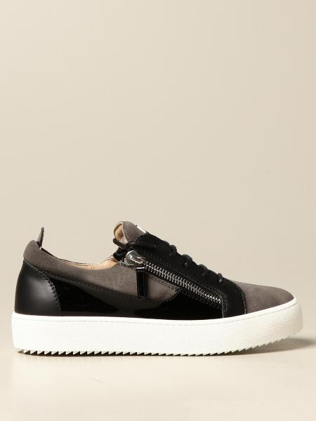 Giuseppe Zanotti Design: Giuseppe Zanotti Design sneakers in patent leather