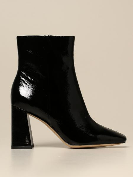 Sam Edelman: Sam Edelman ankle boot in synthetic grain patent leather