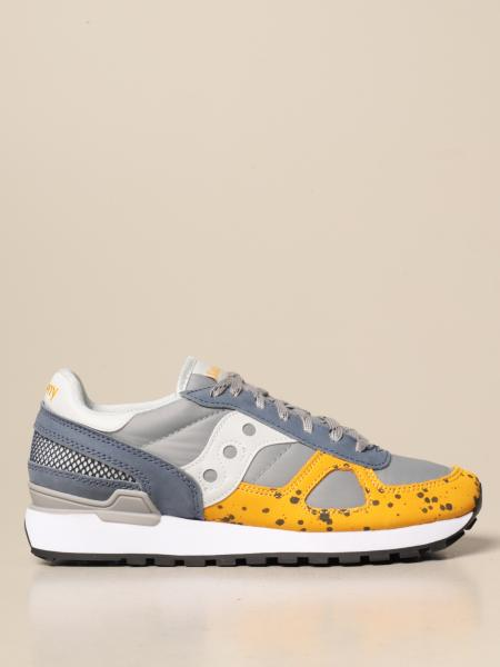 Saucony: Saucony sneakers in nylon and leather
