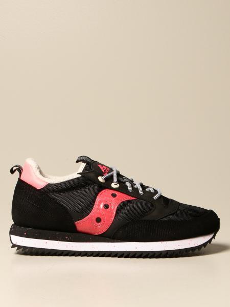Saucony: Sneakers Saucony in micro rete e camoscio
