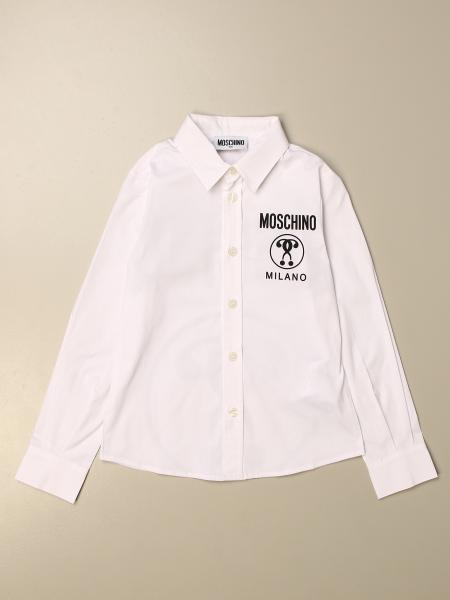 Moschino Kid shirt with big logo