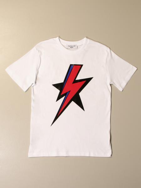 Neil Barrett: Neil Barrett t-shirt in cotton with print