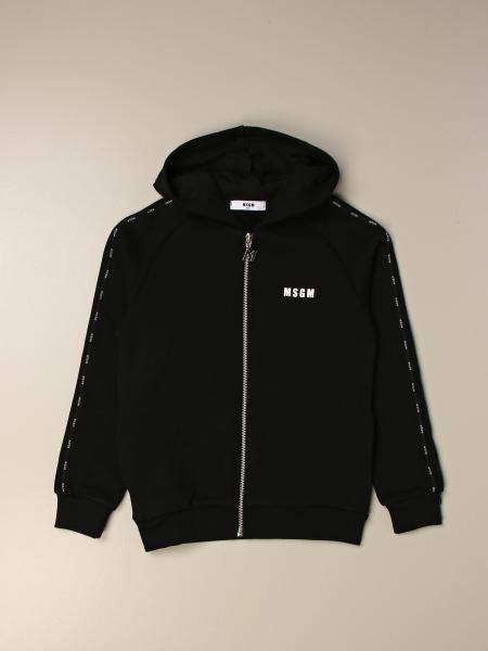 Msgm kids: Msgm Kids cotton sweatshirt with logo