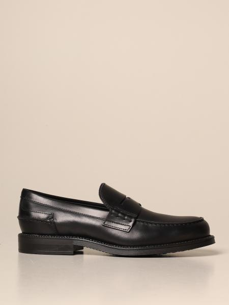 Tod's loafers in leather with sleeper