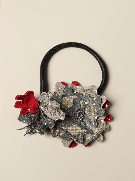 Maliparmi: Collana Blooming Maliparmi con maxi fiori di paillettes