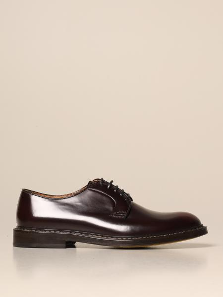 Doucal's: Doucal's derby in brushed leather