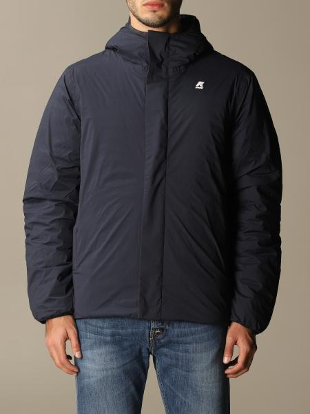 K-Way men: K-way jacket in reversible nylon