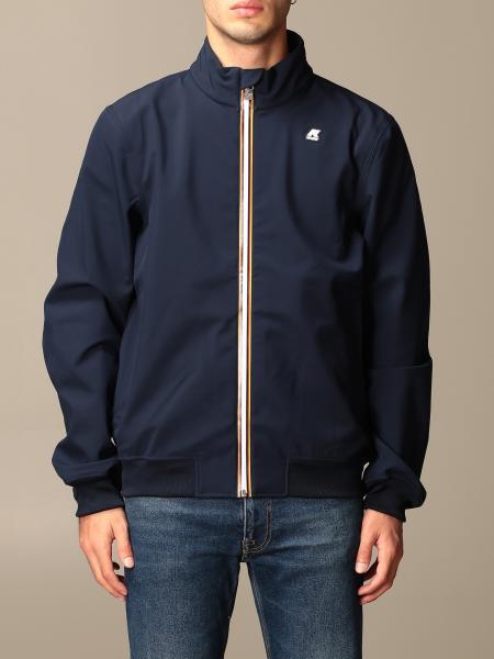 K-Way men: K-way jacket with logo
