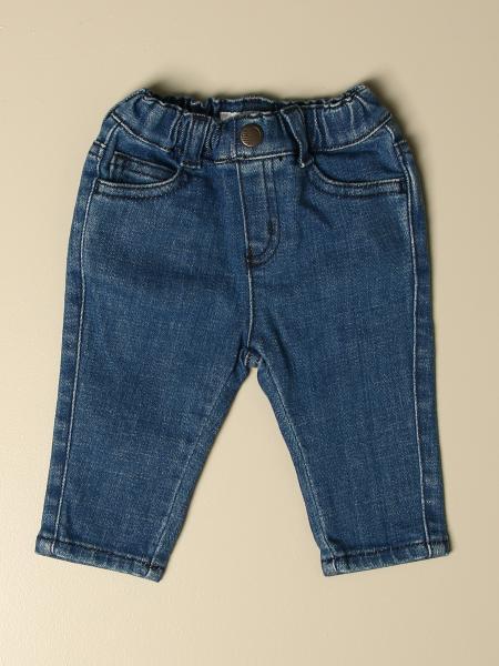 Emporio Armani jogging jeans in used denim