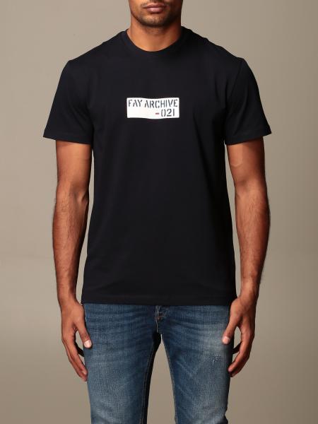 Fay: T恤 男士 Fay