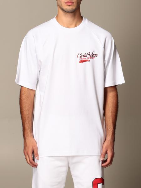 Gcds men: GCDS cotton t-shirt with logo