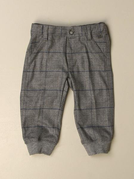 Pantalone classico Il Gufo a quadri