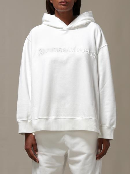 Maison Margiela: Mm6 Maison Margiela hooded sweatshirt