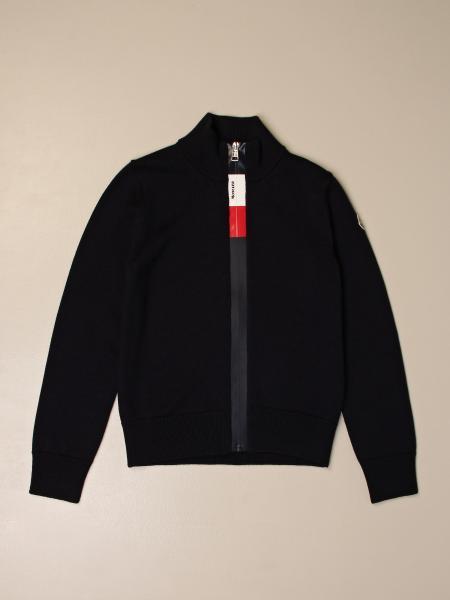 Moncler zip cardigan with logo