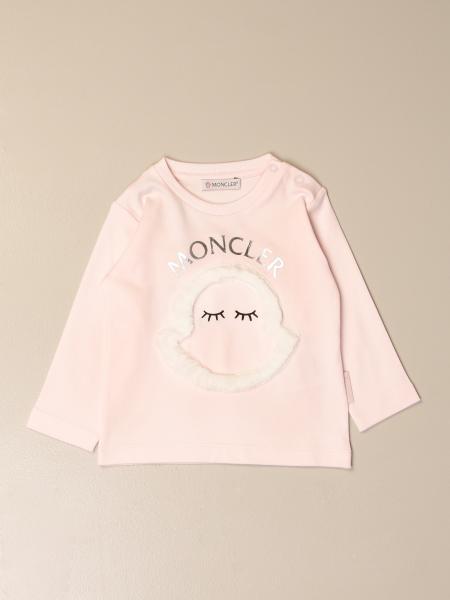 Moncler crewneck sweater with logo