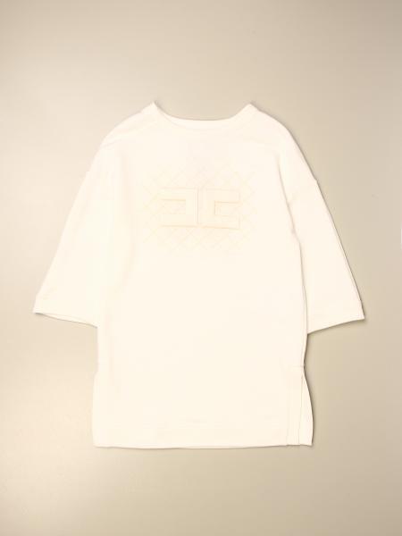 Abito Elisabetta Franchi in cotone con logo