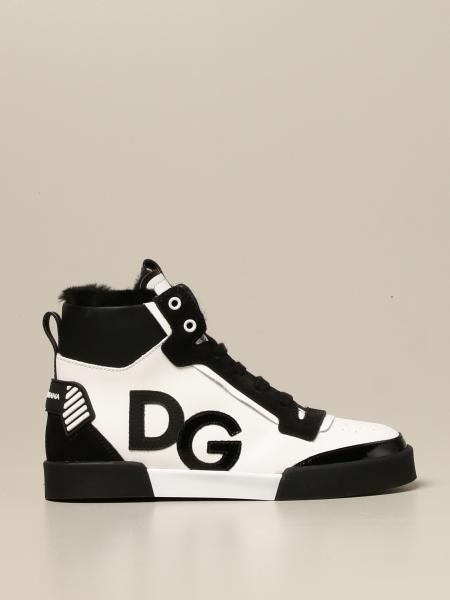 Sneakers Back to school Dolce & Gabbana in pelle