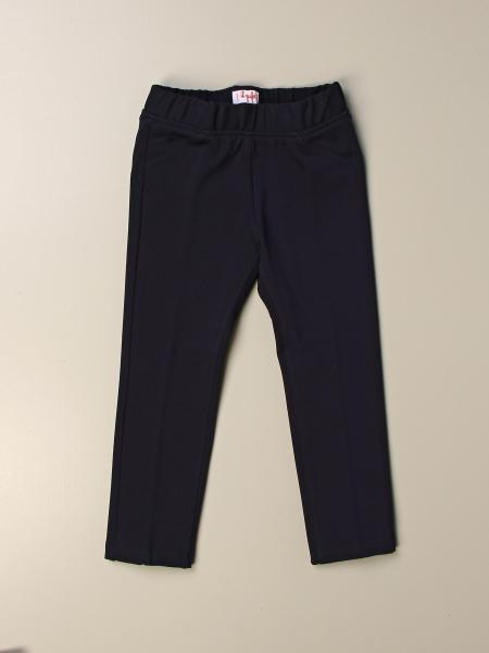 Il Gufo basic trousers with elastic waist