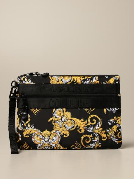Pochette Versace Jeans Couture in nylon baroque