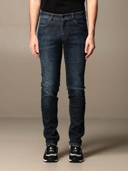 Hogan men: Hogan jeans in used denim