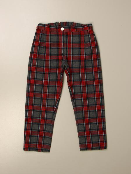 Pantalone Siola in tartan